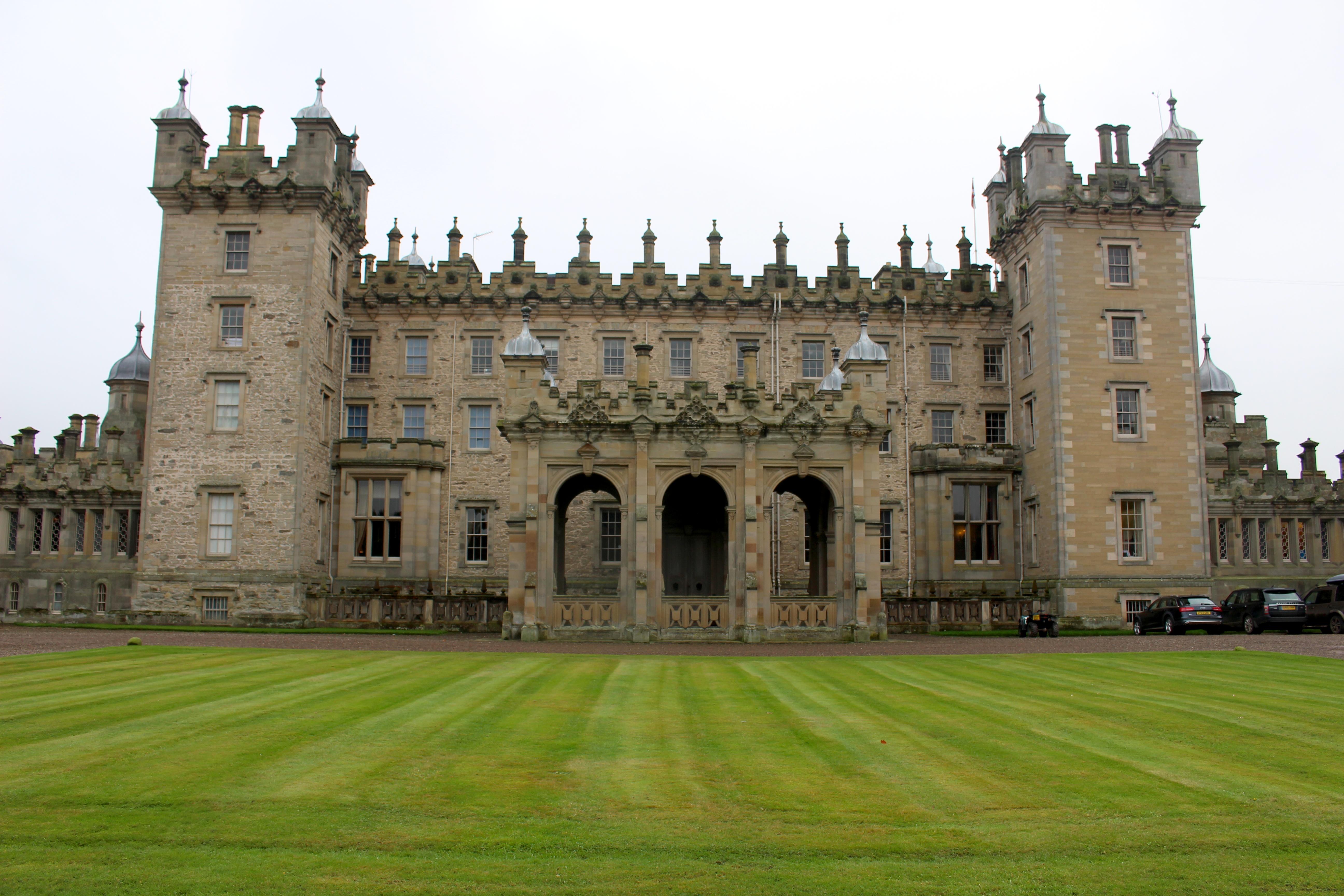 scottish castles stately homes stevenson house